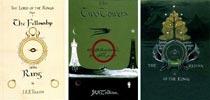 Обложки первого издания «Властелина Колец»